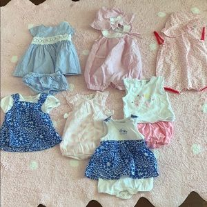Lot of baby girl DESIGEnRR clothing PERfEcT